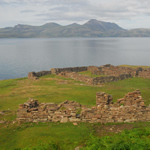 Ruins of Annat Bay monastery, 30 mins walk from Bothy